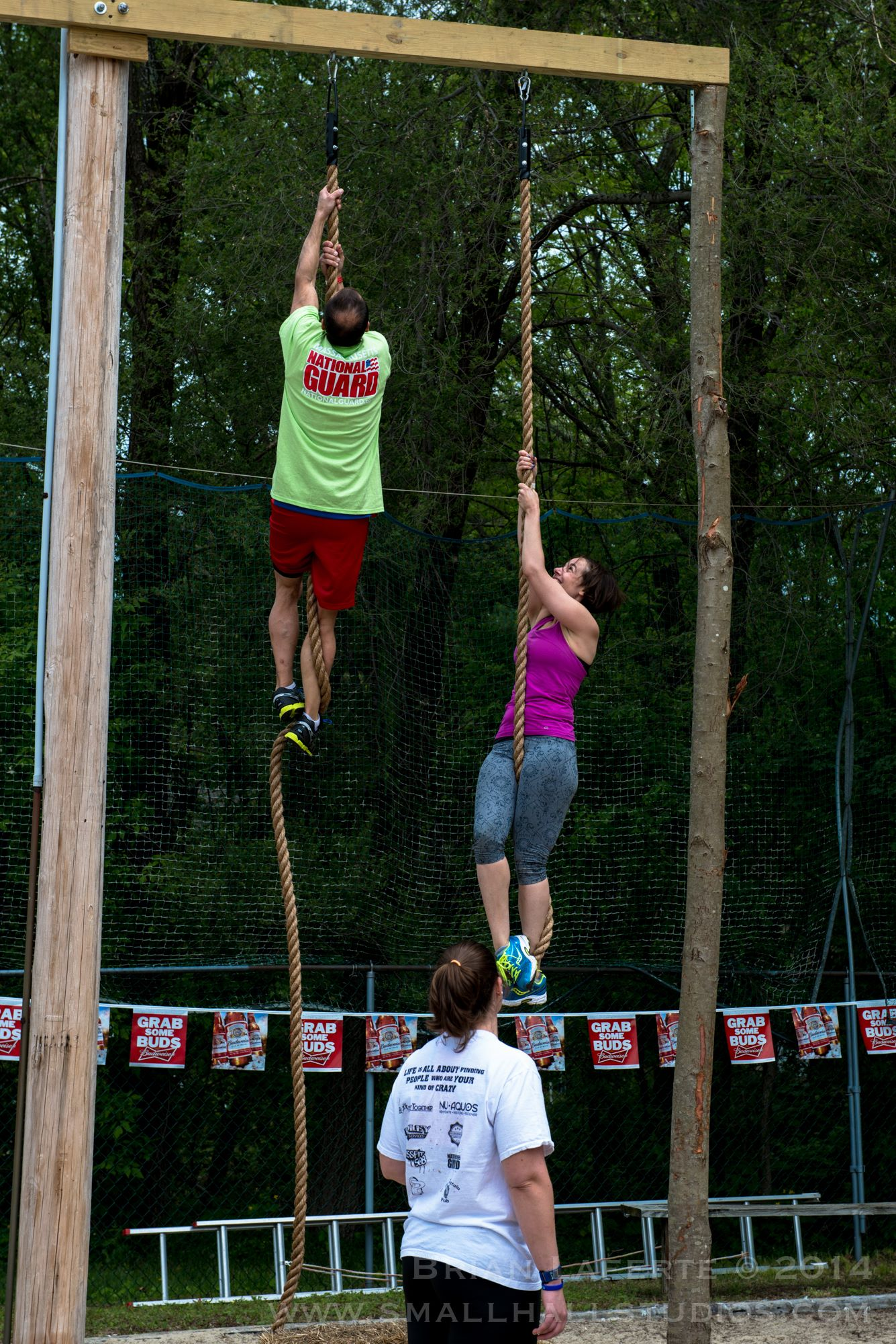 Obstacle Course Rope Climb Massachusetts