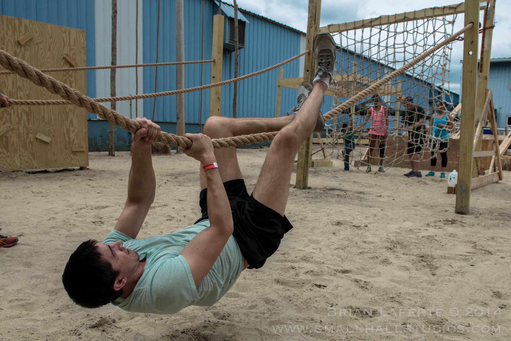 Obstacle Course Race Training Traverse Rope