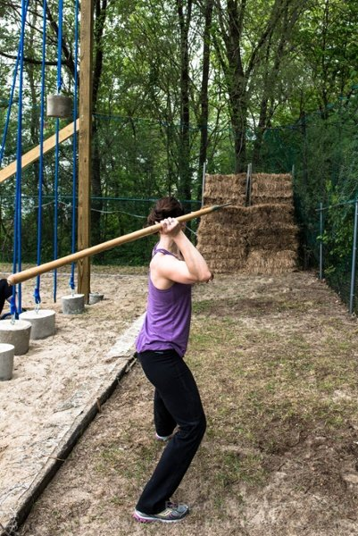 Spear Throw Obstacle Course Races