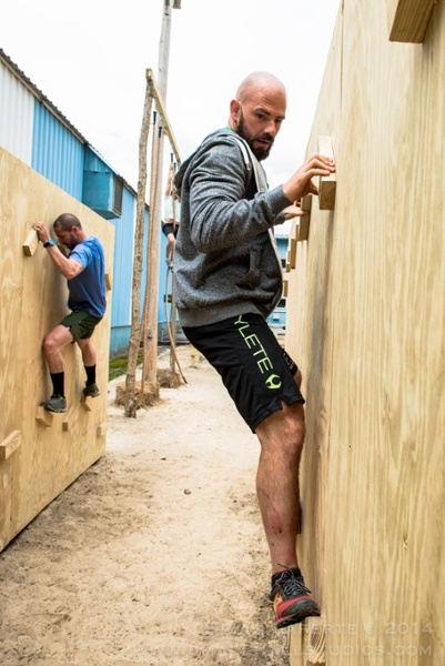 New England Obstacle Course Race Traverse Wall