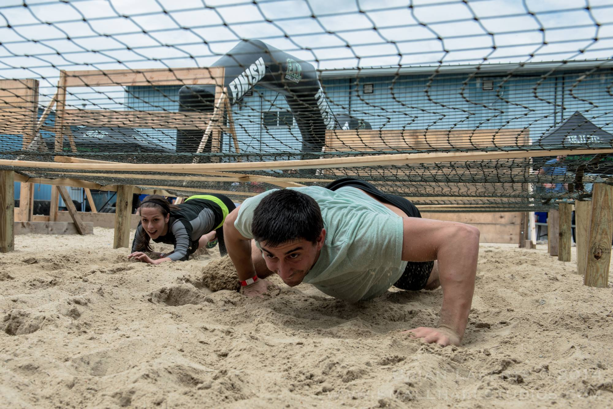Obstacle Course Sand Crawl