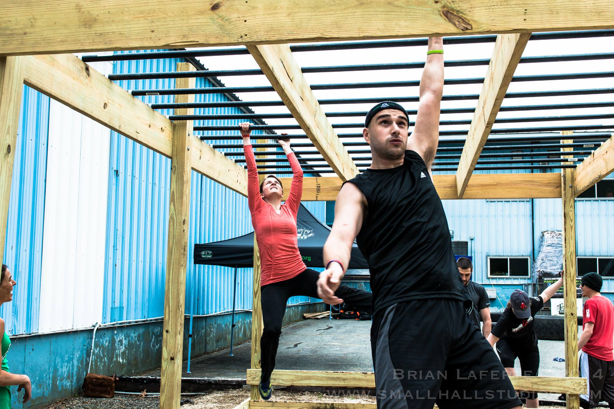 Monkey Bar Obstacle Course Training